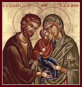 Sfintii Ioachim si Ana cu Prunca